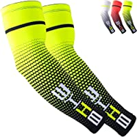 Beister UV Protective Cooling Arm Sleeves UPF 50 for Men & Women, Sports Compression Arm Sleeves