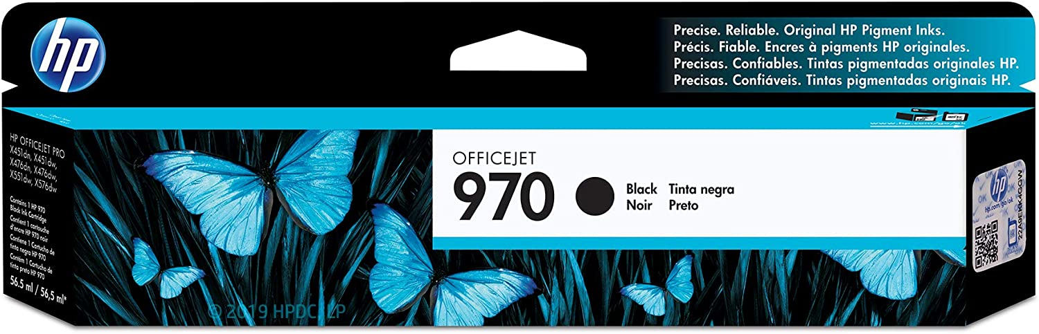 HP 970 | PageWide Cartridge | Black | CN621AM