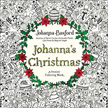 Johanna's Christmas: A Festive Coloring Book for Adults