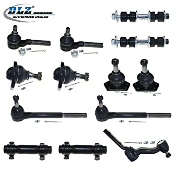 Steering 14 x Ball Joints Tie Rod Ends Kit Fits 1998-2005 Chevrolet Blazer 4WD