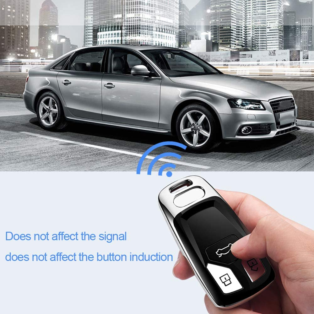 Special Soft TPU Key Case Cover Protector Compatible with Audi A4 Q7 Q5 TT A3 A6 SQ5 R8 S5 Smart Key/_red 121Fruit Way for Audi Key Fob Cover