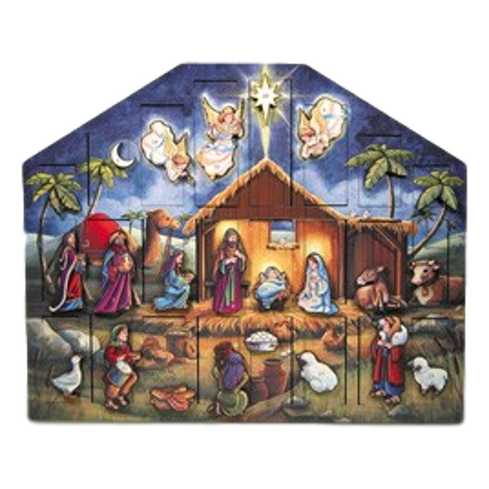 Byers' Choice Nativity Advent Calendar #AC05 Byers' Choice