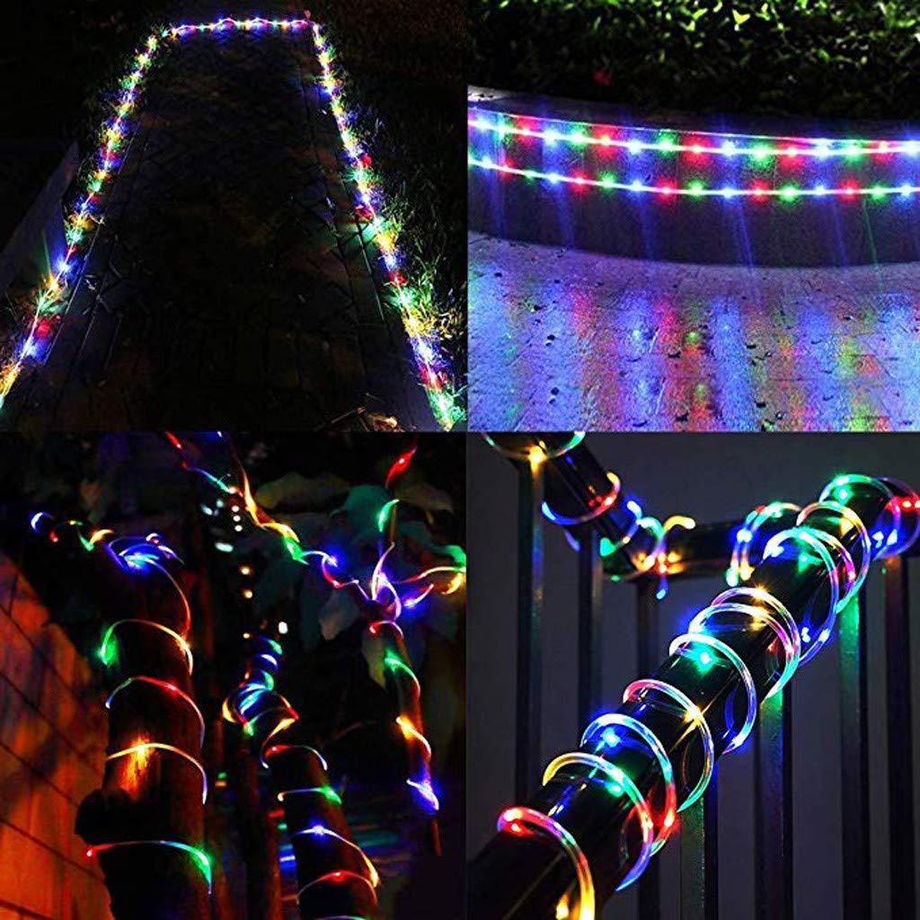 Guirlande Lumineuse LED USB avec T/él/écommande,10M 100LED Lumiere Noel Exterieur,/Étanche IP65 Guirlande en Fil Cuivre 8 modes,Guirlandes Lumineuses Chambre Noel pour Int/érieur et Ext/érieur,Multicolore