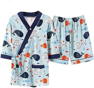 Pijamas De Algodón De para Verano Esencial Mujer Cardigan ...