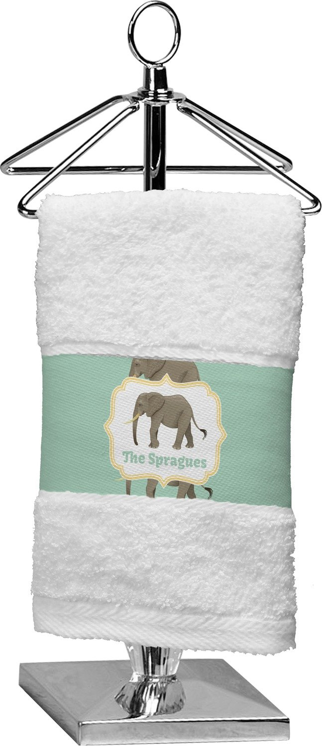 RNK Shops Elephant Finger Tip Towel (Personalized) by RNK Shops (Image #1)
