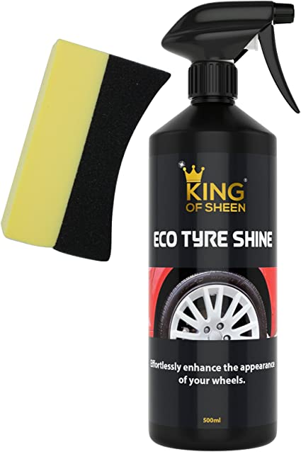 King Of Glanz Eco Reifen Glanz Tyre Shine Mühelos Verbessern Das Erscheinungsbild Ihrer Räder Auto
