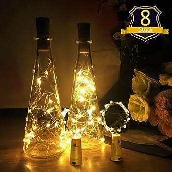 Flaschenlicht Xct Group Led Lichterkette Kork Flaschen Licht Led