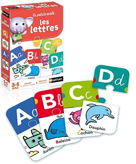 Nathan - 31404 - Les Lettres - Jeu Educatif et Scientifique  Amazon ... f56cd07f564a