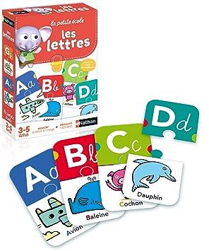 Nathan 31404 Les Lettres - Juego Educativo con Puzzle de ...