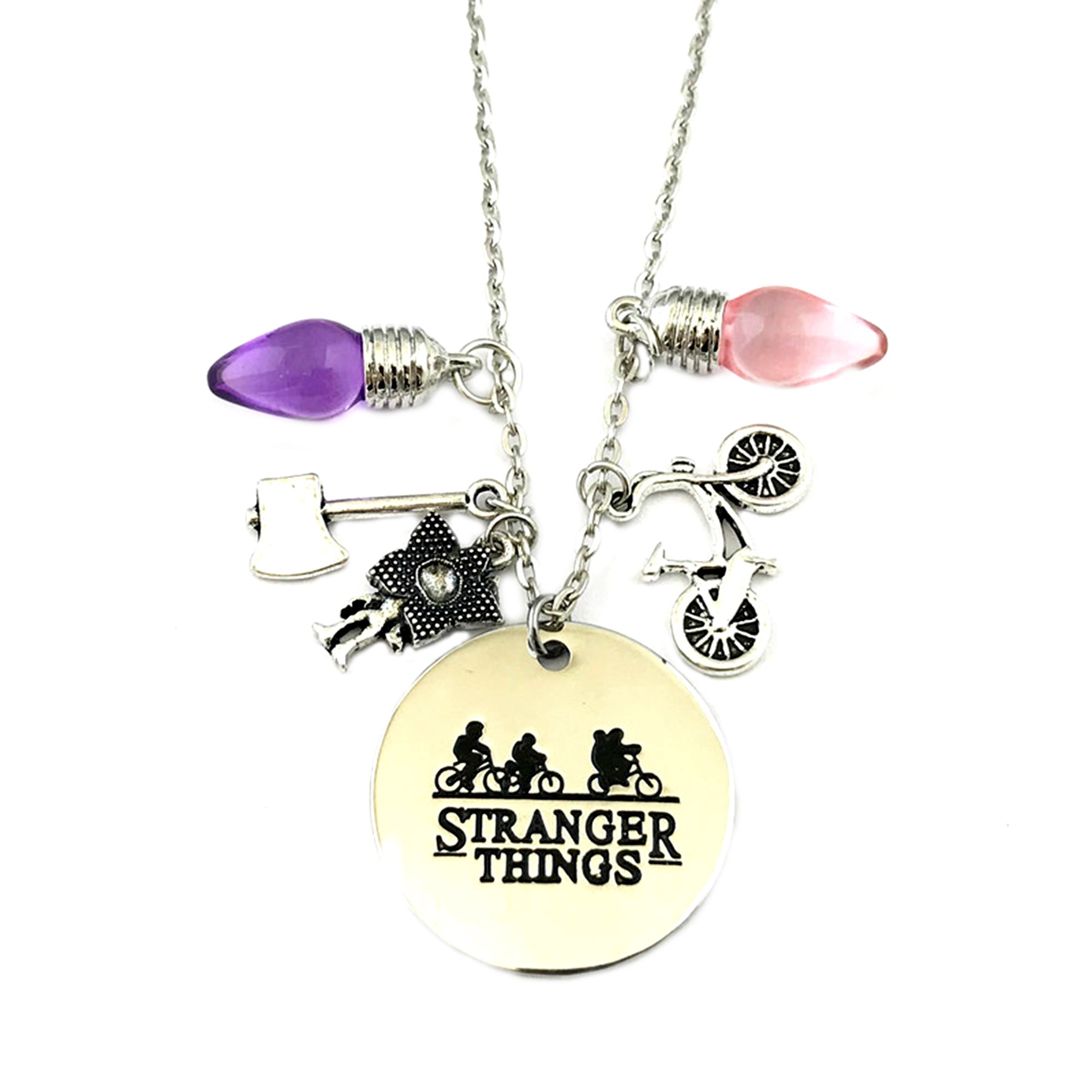 Stranger Things Eleven Cosplay Premium Quality 18'' Pendant Necklace w/Gift Box