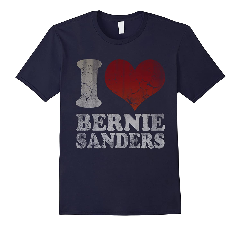 Retro Styley I Heart Bernie Sanders T-Shirt-RT