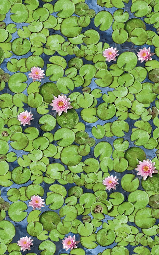 Alkor Sticky Back Plastic (self adhesive vinyl film) Water Lily 45cm x 2m 380-0033 Konrad Hornschuch AG F3800033