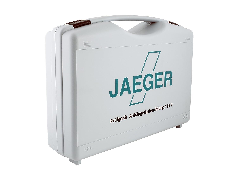 JAEGER 50400109 Prüfgerät Uni im Koffer für Anhängerkupplung: Amazon ...