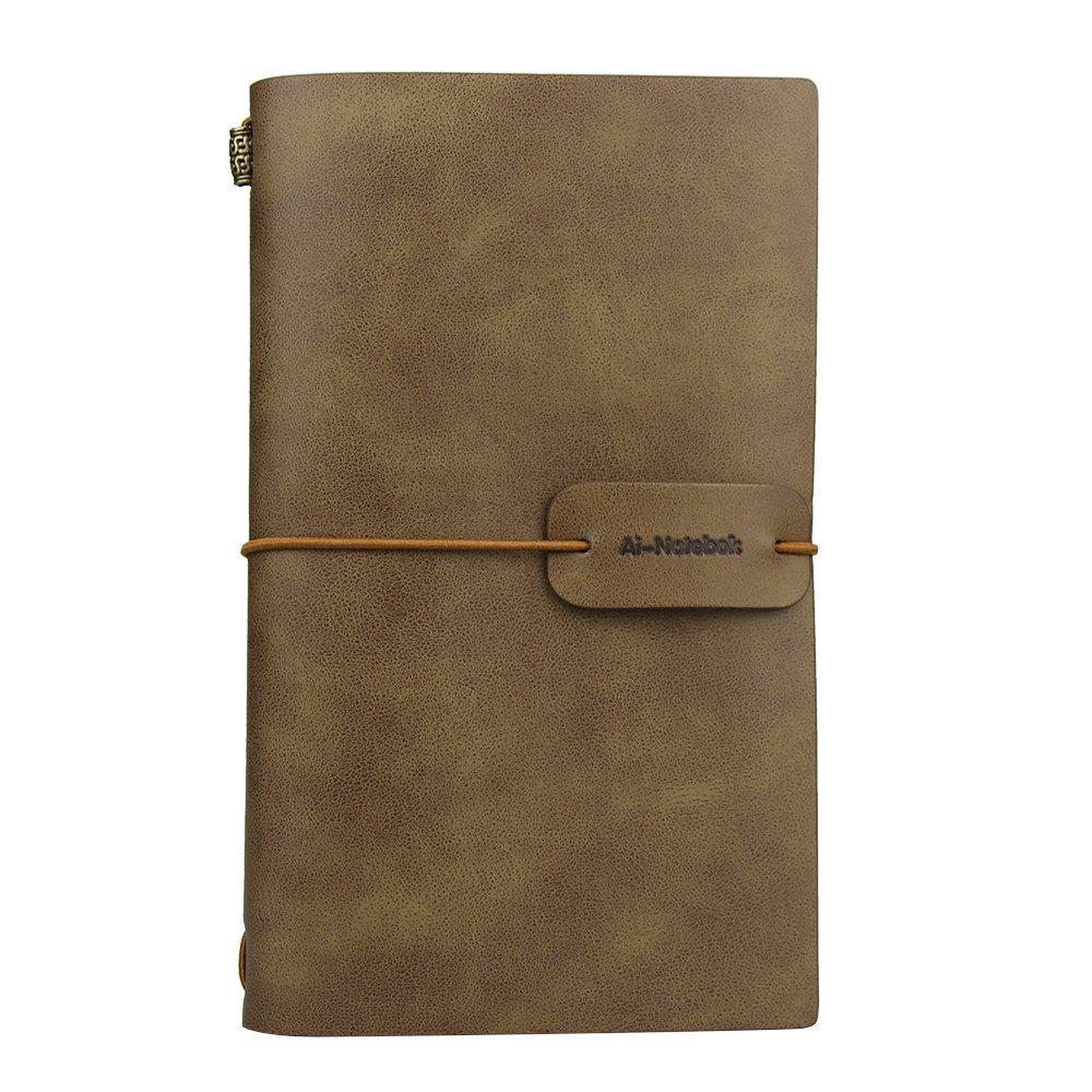 Travel Journal Notebook Vintage Retro Handmade