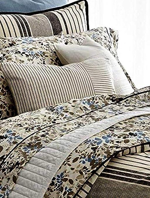 Amazon Com Lauren Ralph Lauren Devon Striped Comforter Set King
