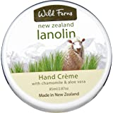 Wild Ferns New Zealand Lanolin Hand Cream with Chamomile and Aloe Vera