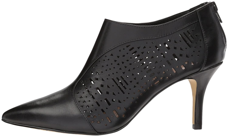 Bella Vita Women's Darlene Ankle Boot B076DK1YNK 6.5 W US Black Leather