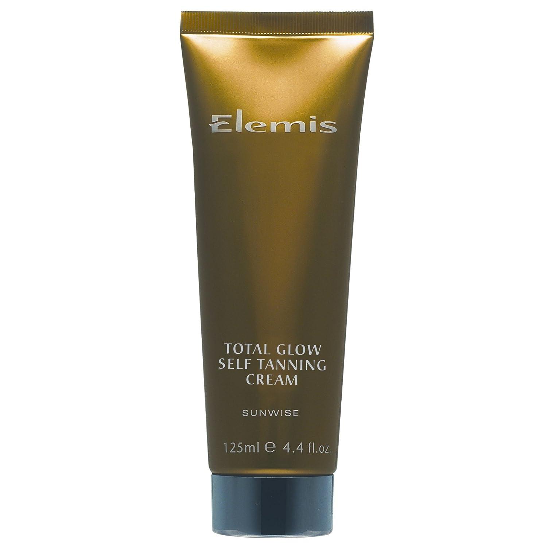 エレミス太陽と同じ方向に合計グローセルフタンニングクリーム125ミリリットル (Elemis) - Elemis Sunwise Total Glow Self Tanning Cream 125ml [並行輸入品]   B01M4RVF5B