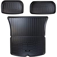 ORKO Tesla Model Y All Weather Interior Trunk and Frunk Mats Laser Cut Largest and Highest Coverage 5D Waterproof…