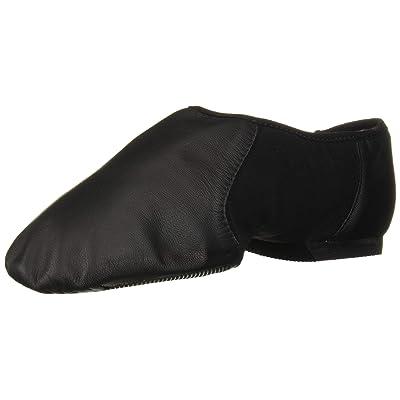 Bloch Dance Women's Neo-Flex Leather and Neoprene Slip On Split Sole Jazz Shoe | Ballet & Dance
