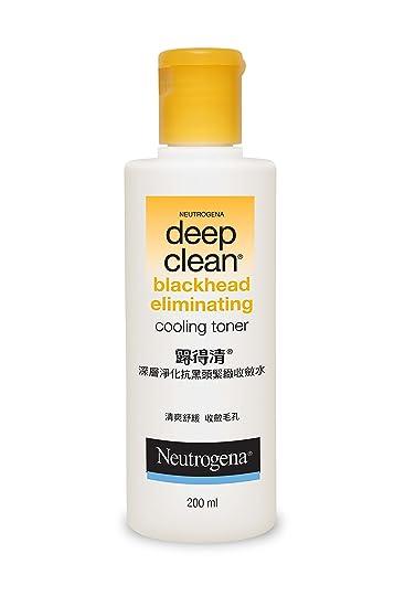 neutrogena blackhead eliminating toner