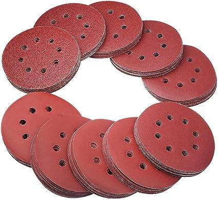 Lepik Disque abrasif Velcro pour ponceuse excentrique /Ø 150 mm avec grain perfor/é