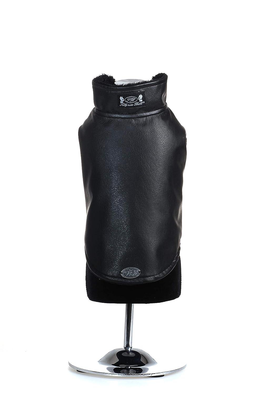 Trilly tutti Brilli ArcadionerXS Arcadio Coat in Faux Leather, XS, Black