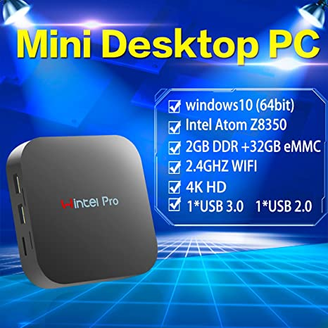 Wintel Pro Mini PC Intel Atom x5 Z8350 (Up To 1 92 GHz