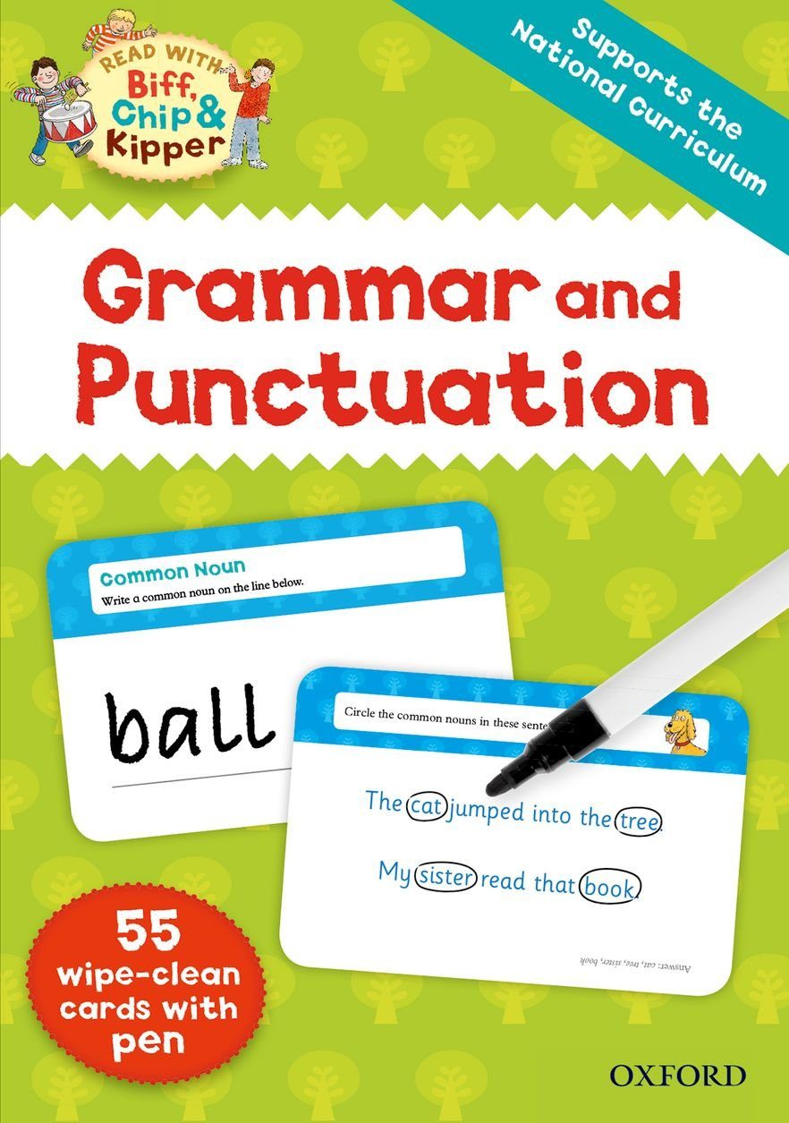 Read Online Oxford Reading Tree Read with Biff, Chip and Kipper: Grammar and Punctuation Flashcards ePub fb2 ebook