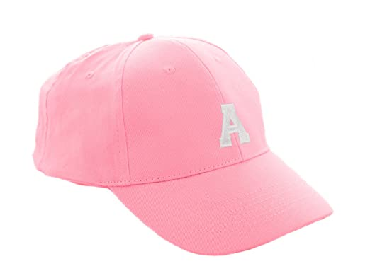 0edbfb12 Baseball Cap Pink Boy Girl Children A-Z Letter Summer Sun Hat Protection  Child Kids Hat Sport MFAZ Morefaz Ltd (A): Amazon.co.uk: Clothing