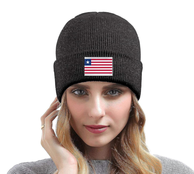 Unisex Knit Beanie Hat Flag of India Warm Winter Skull Caps