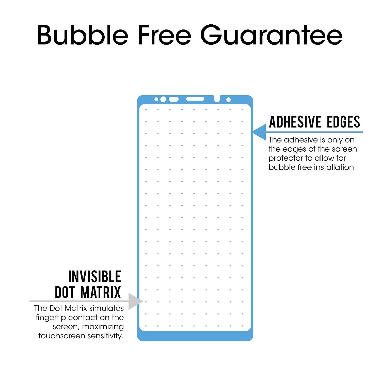 amFilm Galaxy Note 9 Protector de Pantalla, Anti-Burbujas Cristal Vidrio Templado Protector de Pantalla para Samsung Galaxy Note 9 (1 Pack, ...