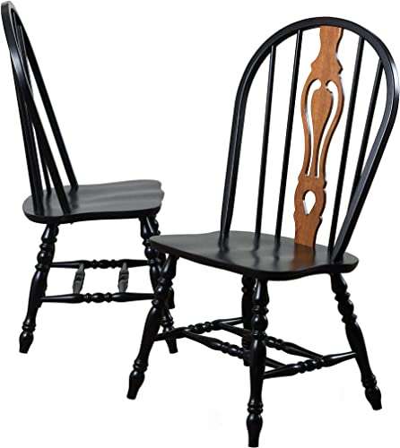 Sunset Trading Black Cherry Selections Dining Chair