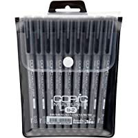 أقلام تحديد ماركة كوبيك، رأس رفيع، مجموعة من 4 أقلام