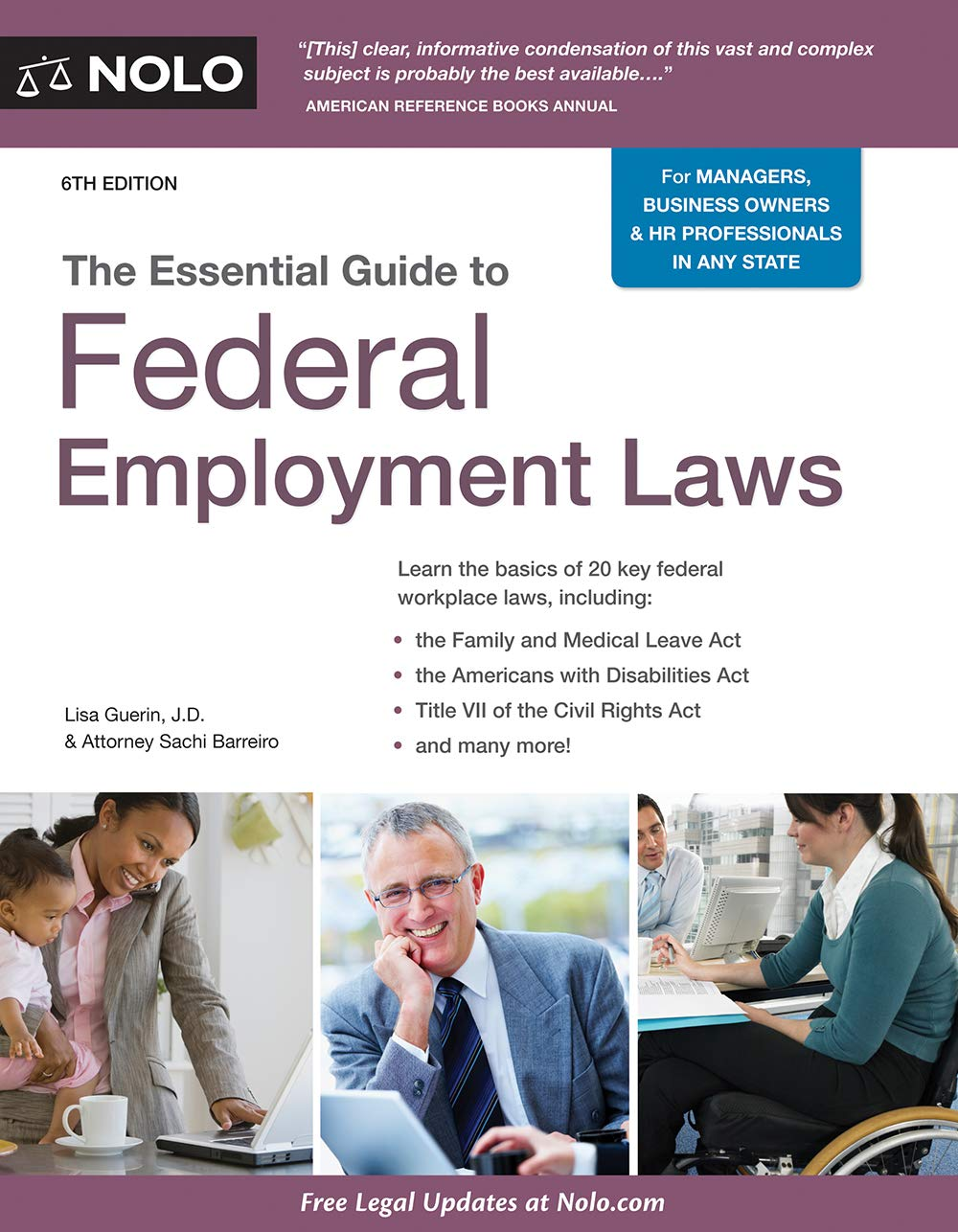 Essential Guide to Federal Employment Laws, The by NOLO