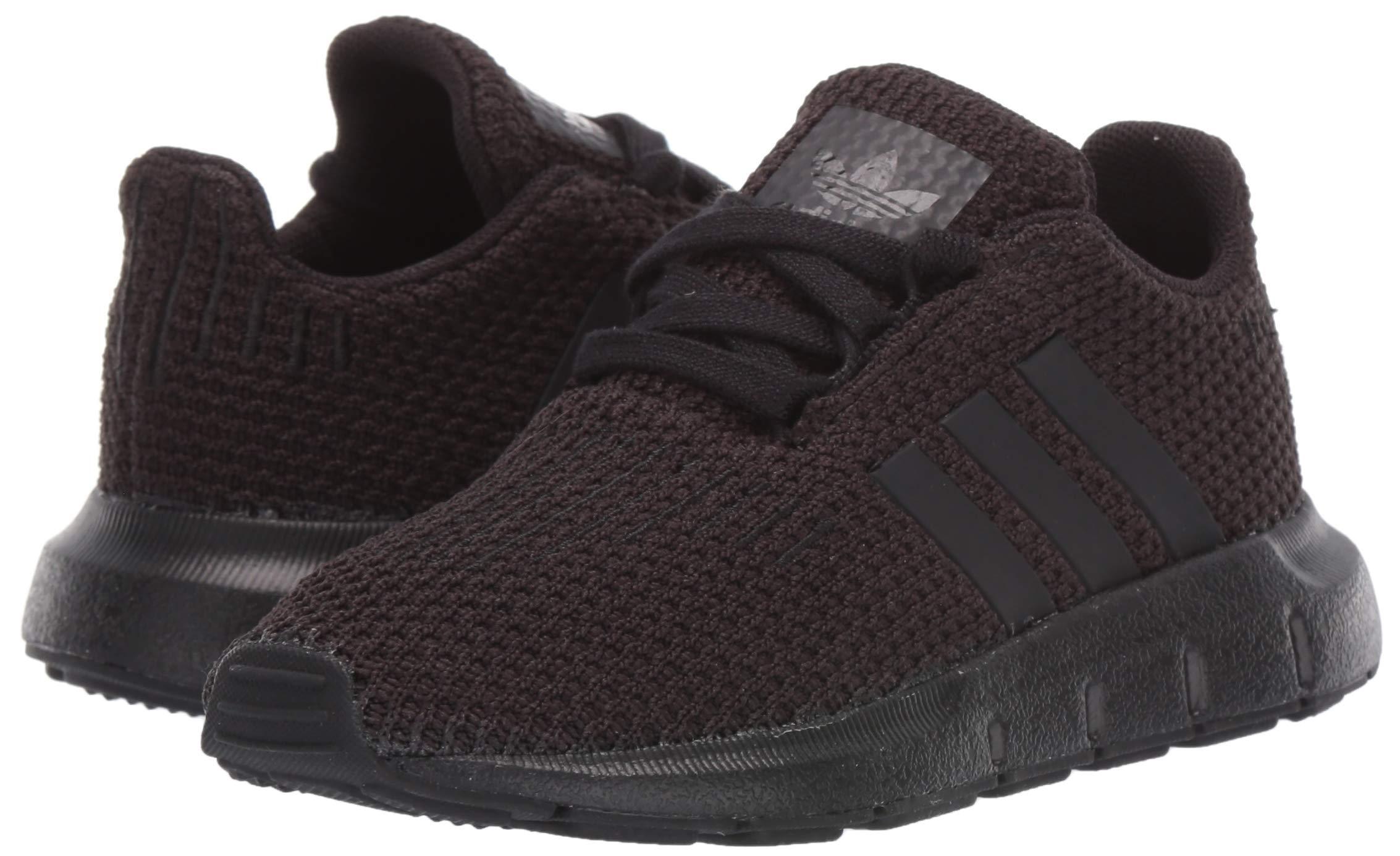 adidas Originals Baby Swift Running Shoe, Black, 5K M US Toddler by adidas Originals (Image #5)