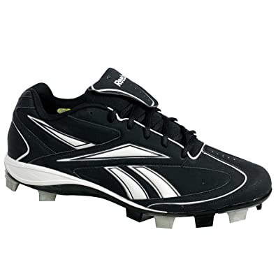Image Unavailable. Image not available for. Color  Reebok J00770 VERO III  Low MSL Mens Baseball Shoes Black White ... 3a5e90b63