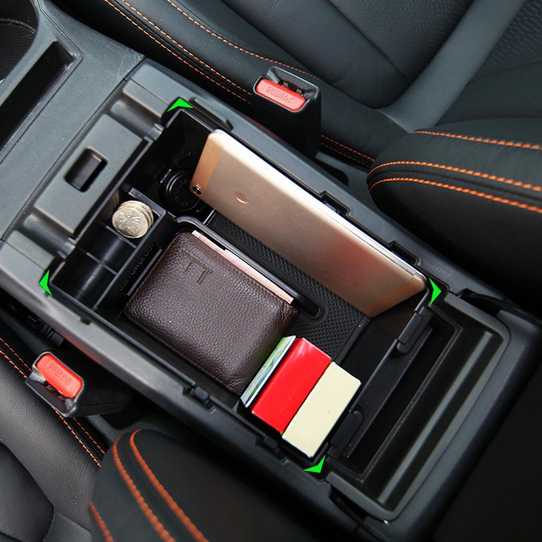 CITALL Sekund/äre Mittelkonsole Aufbewahrungsbox Armlehne Handschuhfach Koffer