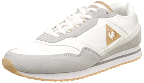 982d5ce9d7ad Le Coq Sportif Women s Louise Suede Nylon Bass Trainers  Amazon.co ...