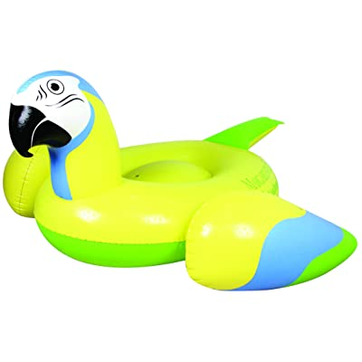 Margaritaville Parrot Head Pool Float Yellow: Sports & Outdoors