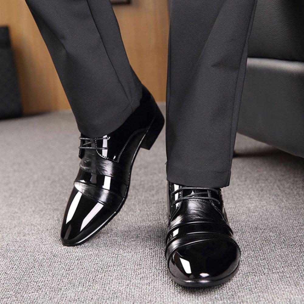 MHSXN Scarpe Stringate Da Uomo Scarpe Eleganti Da Uomo Per