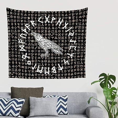 Runas vikingas nórdicas, cuervo escandinavo, runas de tatuaje ...