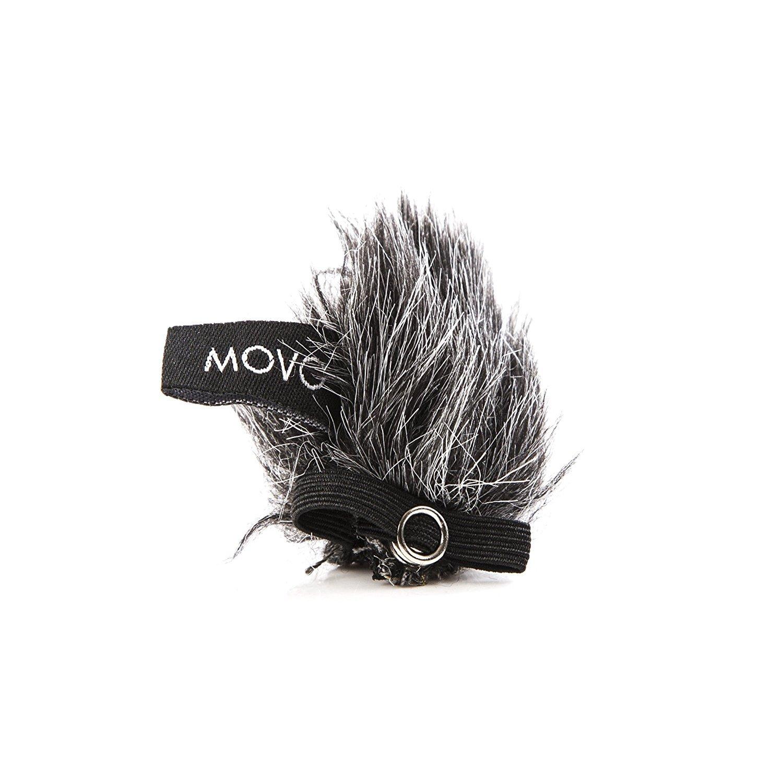 /12/mm Compatible avec Movo Lv8-c /& Lv8-d Diffusion Lavalier ambiant Movo Mcw8/5-pack de Lavalier Micro pare-brise Manchons et m/étal Crocodile Pins Clips pour capsules/