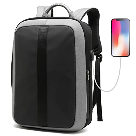 dedce1f8fab Amazon.com  CoolBELL Laptop Backpack 15.6 Inch Anti-Theft Business ...