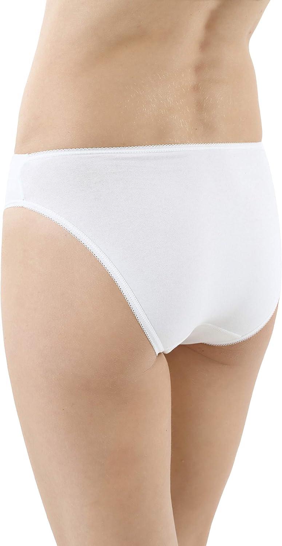 ALBERT KREUZ Pack de 3 Braguitas cómodas de algodón elástico ...