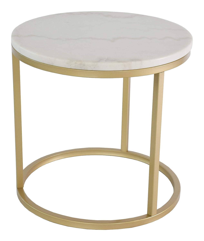 BIM Furniture Accent - Mesa de café (diámetro: 50 cm, Altura: 53 ...