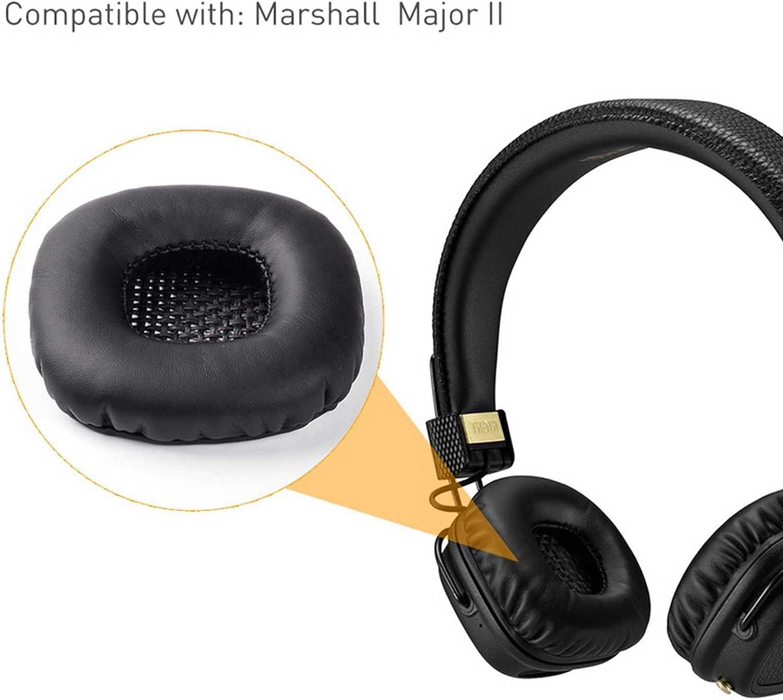Rhinenet Almohadillas de Repuesto para Auriculares Marshall Major /& Major II /& Major 2 On-Ear y Bluetooth