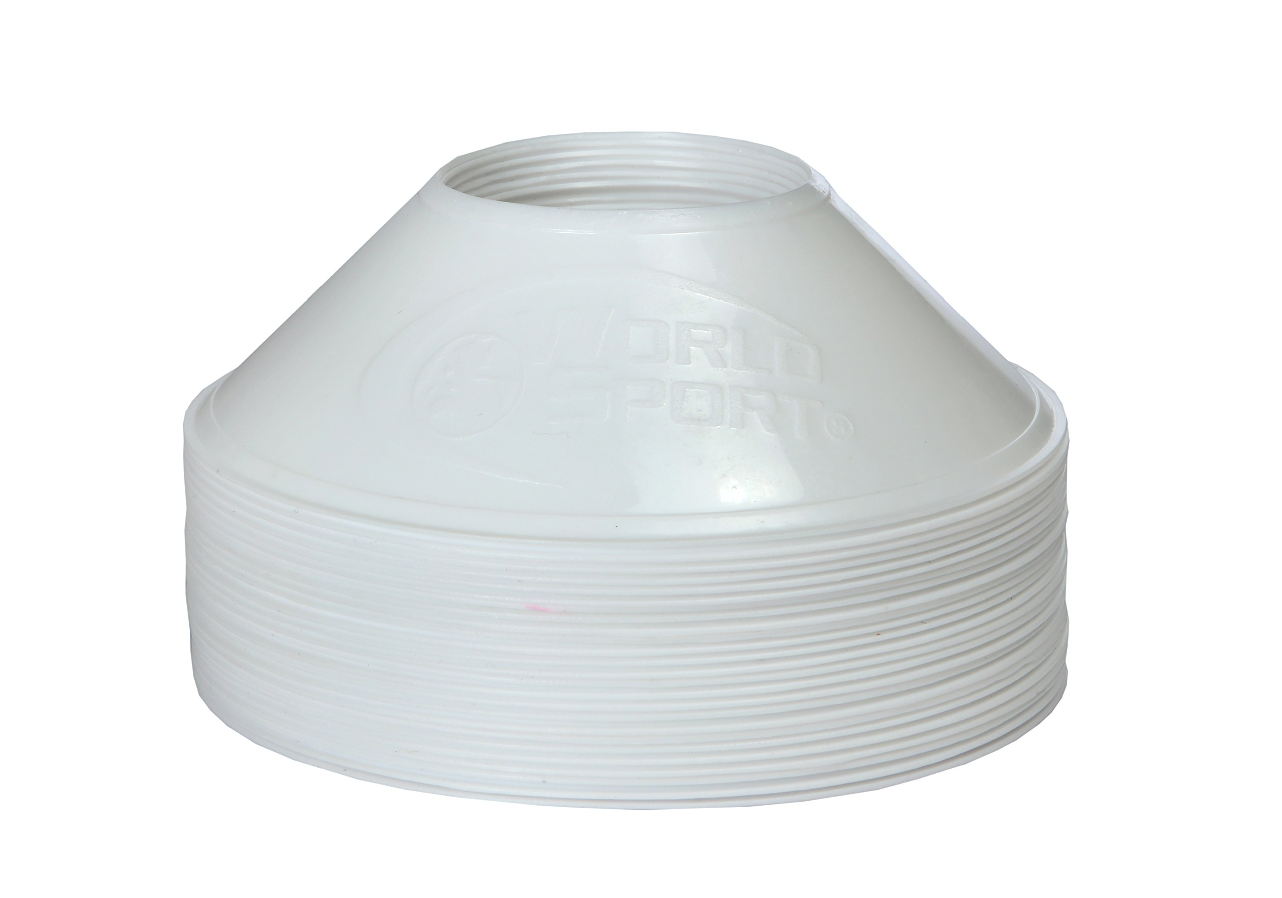 World Sport MINI Disc Cones 25 White / 25 Pink (50 Pack) by World Sport (Image #5)