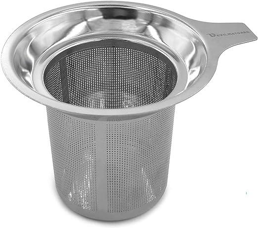 Stainless Steel Tea Infuser Basket Strainer Mesh Filter Coffee Tea Making Tool