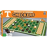 MasterPieces NCAA Tennessee Volunteers, Checkers Board Game, For Ages 6+